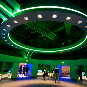 "33 of 48: Test Track - New 2012 Test Track - Post show 'Create Your Commercial"" area"