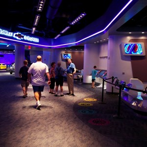 36 of 48: Test Track - New 2012 Test Track - Post show area leading towards the showroom
