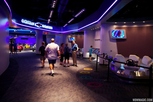 Test Track - New 2012 Test Track - Post show area leading towards the showroom