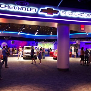 37 of 48: Test Track - New 2012 Test Track - Entrance to the Chevrolet Showroom