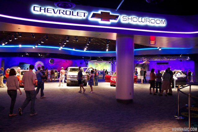 Test Track - New 2012 Test Track - Entrance to the Chevrolet Showroom