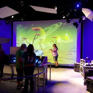 41 of 48: Test Track - New 2012 Test Track - Post show photo opportunities