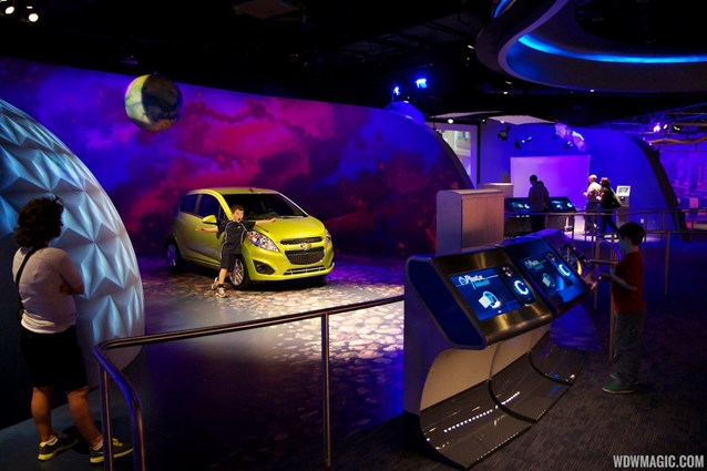 Test Track - New 2012 Test Track - Post show photo op