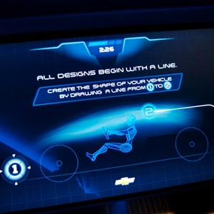 20 of 48: Test Track - New 2012 Test Track - Design Studio kiosk screen shot