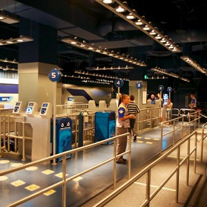 24 of 48: Test Track - New 2012 Test Track - The ride loading area
