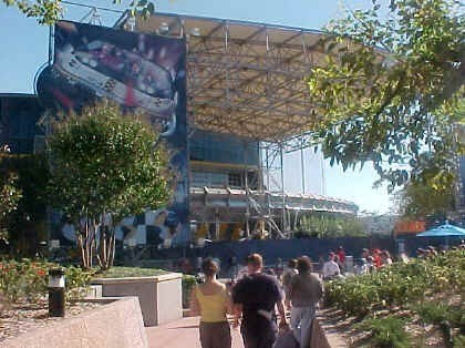 FASTPASS construction at Test Track