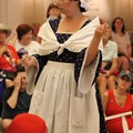 The American Adventure (Pavilion) - Betsy Ross story-telling inside the America Adventure