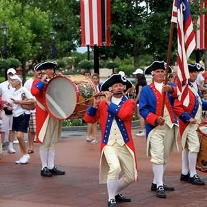 5 of 20: The American Adventure (Pavilion) - The Spirit of America