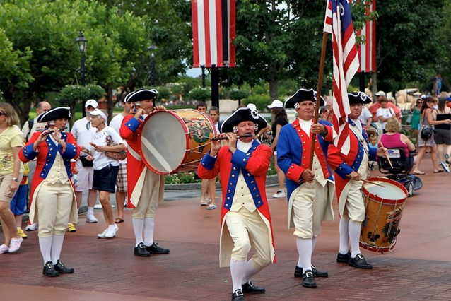The American Adventure (Pavilion) - The Spirit of America