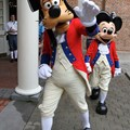 The American Adventure (Pavilion) - Goofy and Mickey Mouse