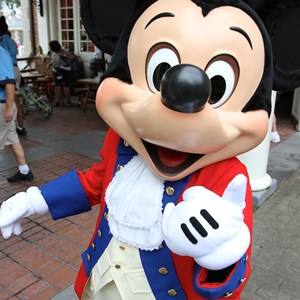 8 of 20: The American Adventure (Pavilion) - Mickey Mouse