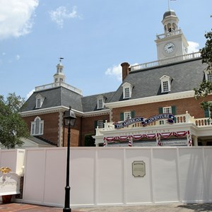 2 of 2: The American Adventure (Pavilion) - Fountain refurbishment