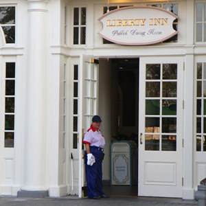 4 of 4: The American Adventure (Pavilion) - New American Adventure costumes - Liberty Inn costume