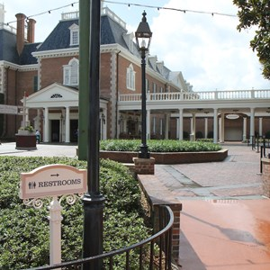 1 of 11: The American Adventure (Pavilion) - New American Adventure restrooms