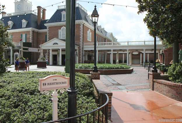 New American Adventure Pavilion Restrooms