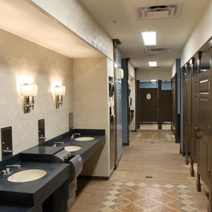 7 of 11: The American Adventure (Pavilion) - New American Adventure restrooms