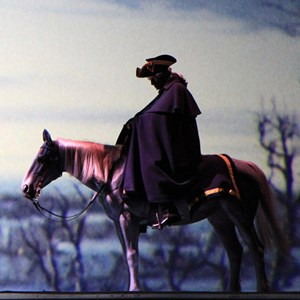 4 of 22: The American Adventure - George Washington Horse