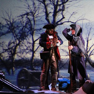 5 of 22: The American Adventure - Valley Forge scene
