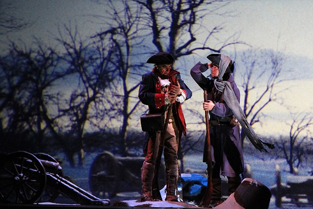 The American Adventure - Valley Forge scene