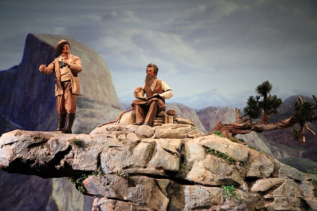The American Adventure - John Muir and Theodore Roosevelt