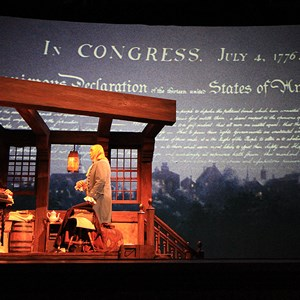 3 of 22: The American Adventure - Thomas Jefferson and Benjamin Franklin