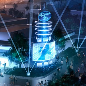 1 of 2: The American Idol Experience - American Idol concept art