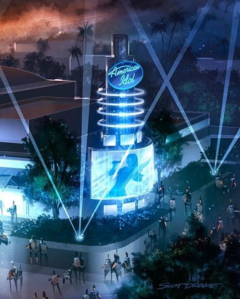 American Idol concept art