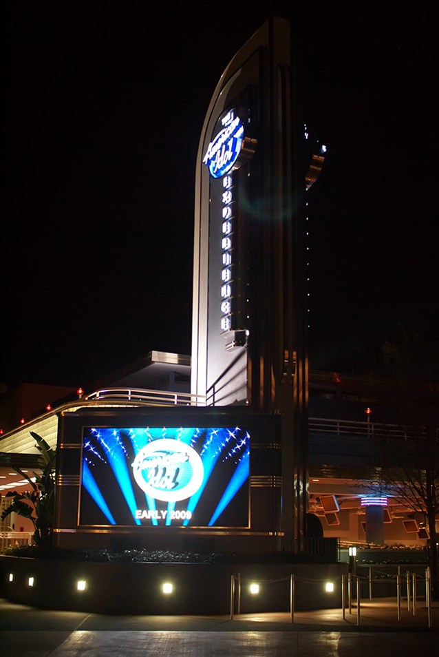 The American Idol Experience - The American Idol main entrance and sign.