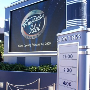 3 of 10: The American Idol Experience - American Idol queue and preshow area