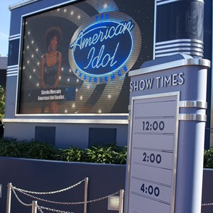 5 of 10: The American Idol Experience - American Idol queue and preshow area
