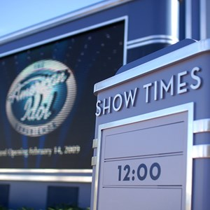1 of 10: The American Idol Experience - American Idol queue and preshow area