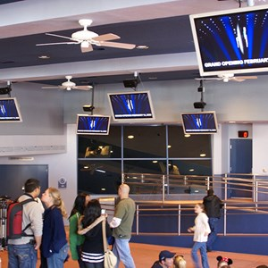 7 of 10: The American Idol Experience - American Idol queue and preshow area