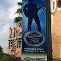 The American Idol Experience - American Idol Premiere Party banners along Sunset Blvd.