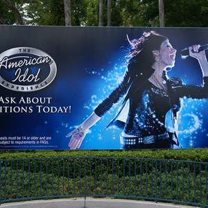 1 of 1: The American Idol Experience - American Idol Experience billboard at main entrance