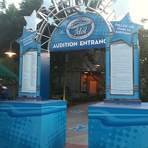 2 of 2: The American Idol Experience - Second American Idol Experience Audition Entrance