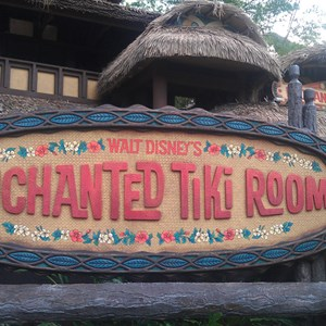 1 of 1: The Enchanted Tiki Room -- Under New Management - New signage