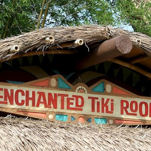 8 of 38: Walt Disney's Enchanted Tiki Room - Opening Day