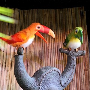 16 of 38: Walt Disney's Enchanted Tiki Room - Opening Day