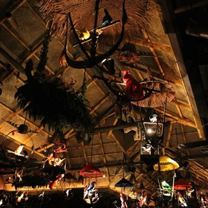 21 of 38: Walt Disney's Enchanted Tiki Room - Opening Day