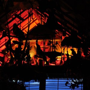 26 of 38: Walt Disney's Enchanted Tiki Room - Opening Day