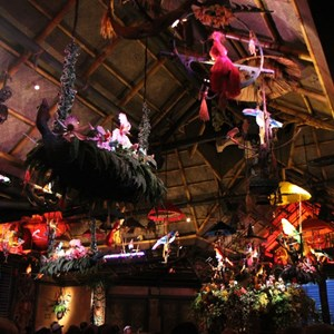 28 of 38: Walt Disney's Enchanted Tiki Room - Opening Day
