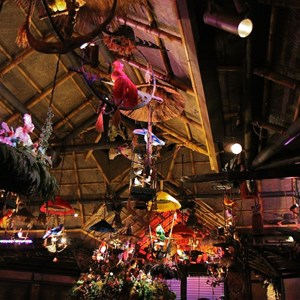 29 of 38: Walt Disney's Enchanted Tiki Room - Opening Day