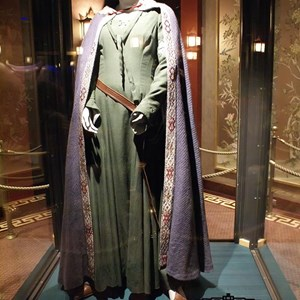 2 of 2: The Great Movie Ride - New costumes on display in the Great Movie Ride preshow
