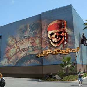 1 of 2: The Legend of Captain Jack Sparrow - Legend of Jack Sparrow renderings