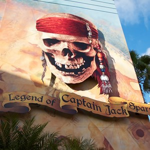 1 of 13: The Legend of Captain Jack Sparrow - The Legend of Captain Jack Sparrow exterior signage