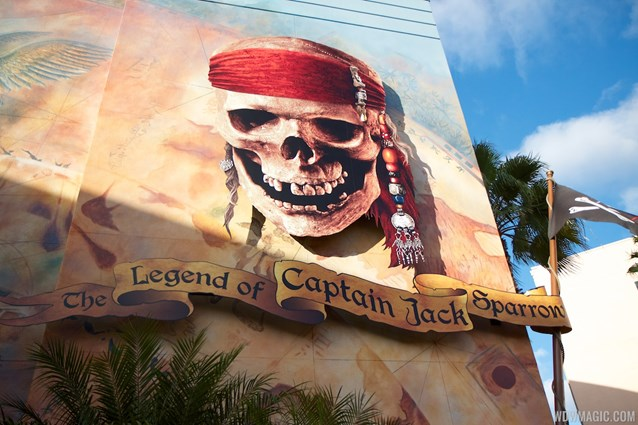 The Legend of Captain Jack Sparrow - The Legend of Captain Jack Sparrow exterior signage