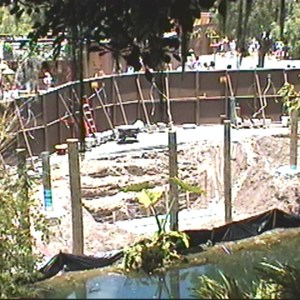 2 of 4: The Magic Carpets of Aladdin - Aladdin Construction underway in Adventureland