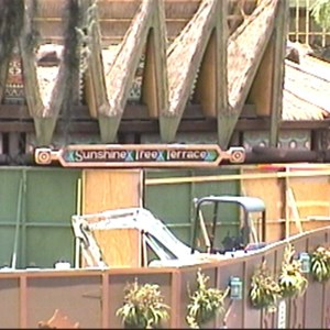 3 of 4: The Magic Carpets of Aladdin - Aladdin Construction underway in Adventureland