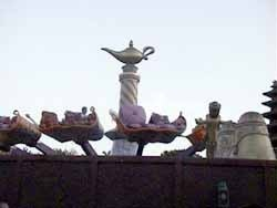 2 of 4: The Magic Carpets of Aladdin - Aladdin construction