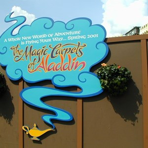 4 of 4: The Magic Carpets of Aladdin - Aladdin construction